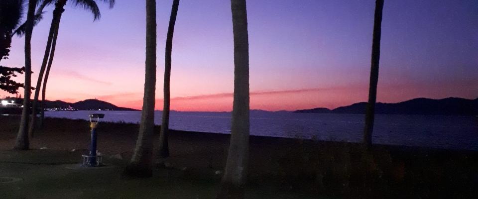 Sunset on the Strand