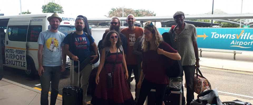Fun Musicians of the annual 40 Hour Jam on Magnetic Island
